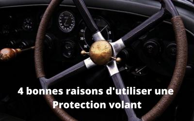 4 bonnes raisons d'utiliser une protection pour votre volant de voiture